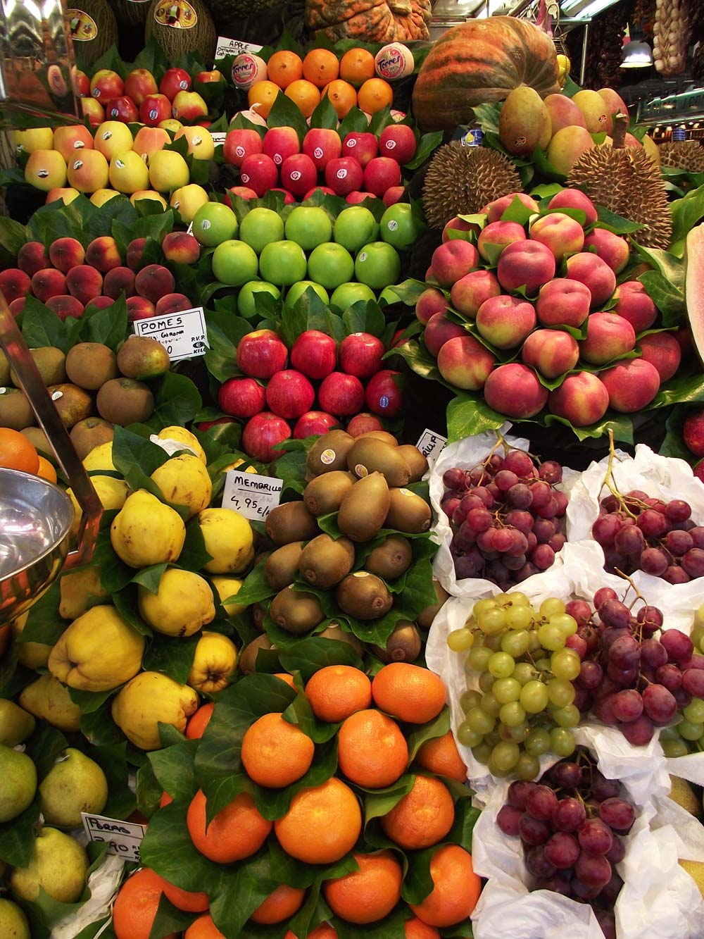 Fotos gratis -Frutas en el mercado de la Boquería