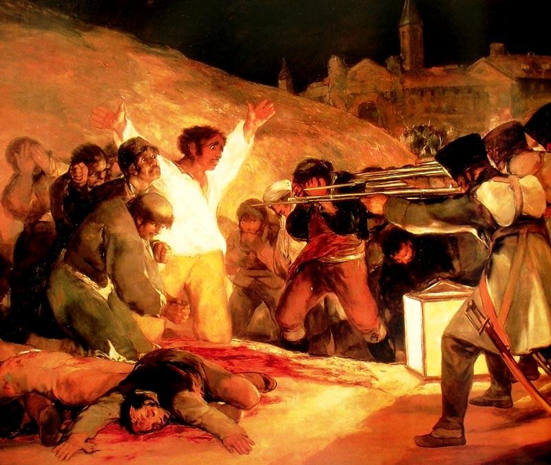 Los fusilamientos de mayo de 1808