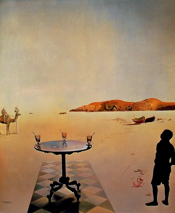 Salvador Dalí, Mesa al sol