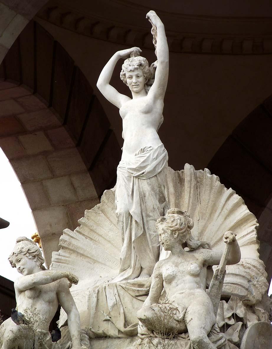 Escultura nacimiento de Venus