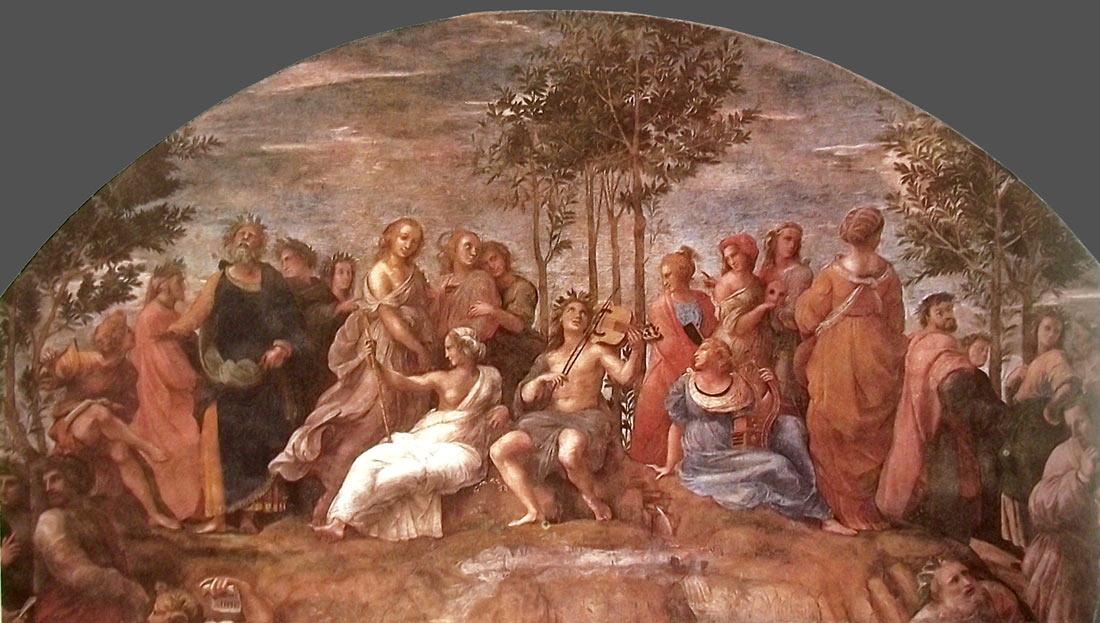 Apolo y sus musas
