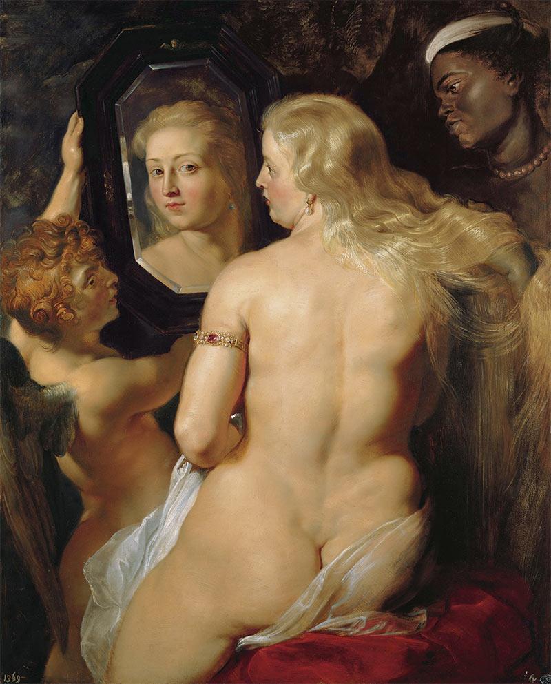 Venus del espejo de Rubens