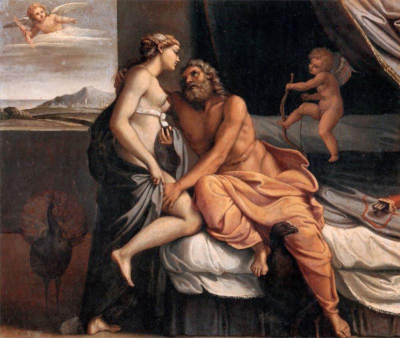 Zeus / Júpiter de Annibale Carracci