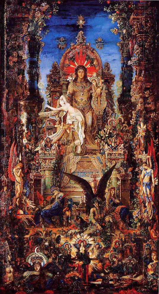 Júpiter de Gustave Moreaux