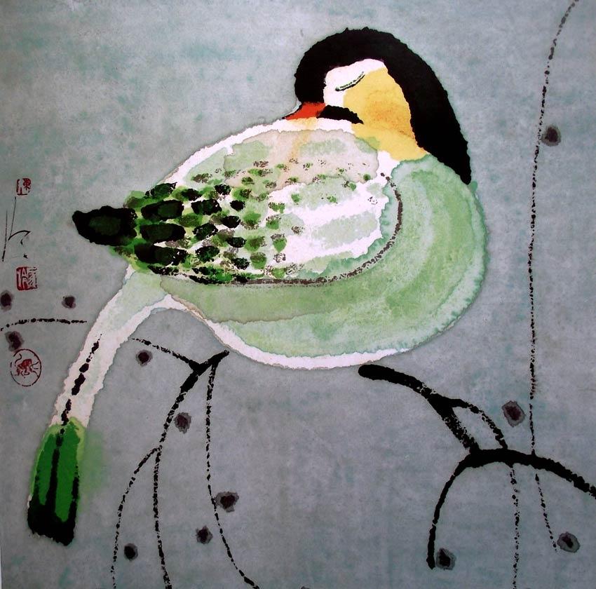 Pájaro de Chen Jialing