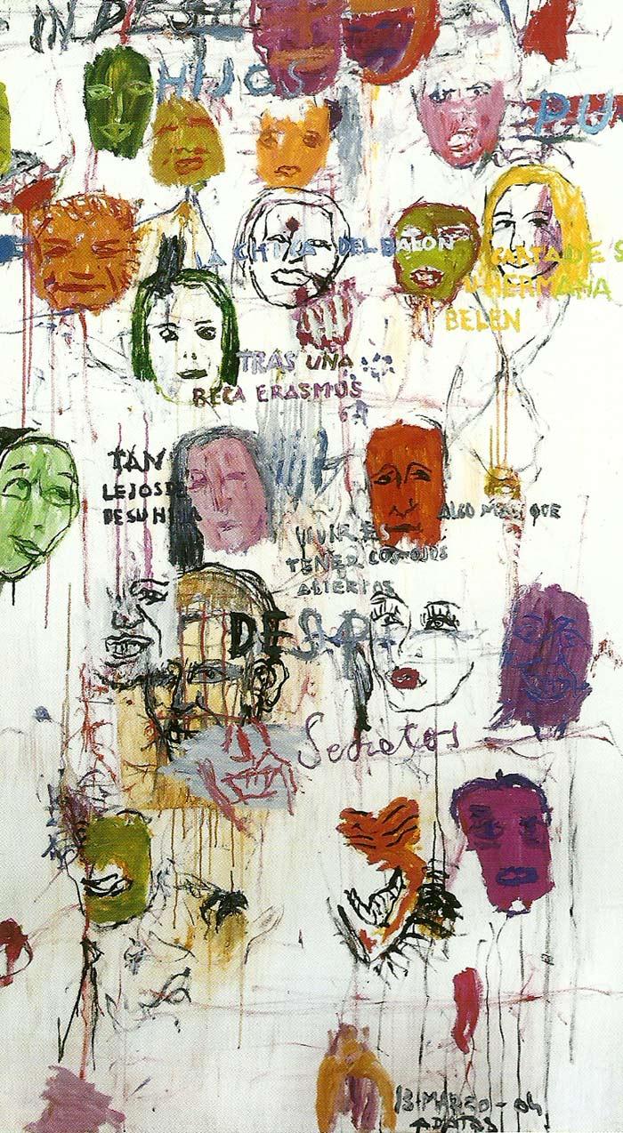 Acumulaciones de cabezas, Alberto Datas