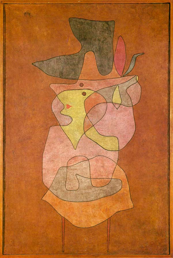 Dama demonio de Paul Klee
