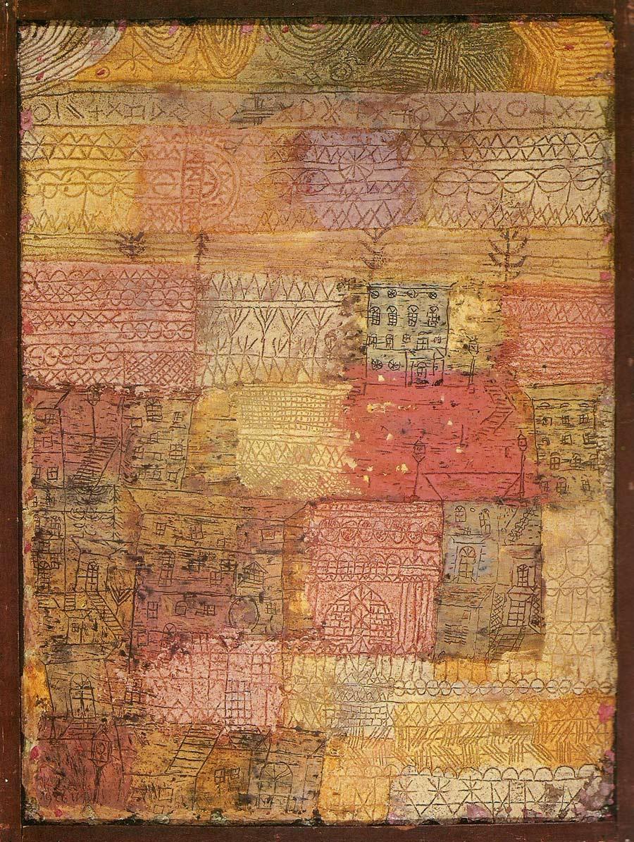 Villas florentinas de Paul Klee