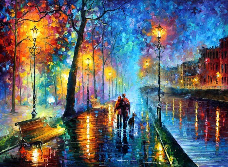 Melodia de la noche, por Leonid Fremov
