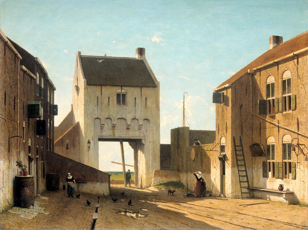 Pintura de Jan Hendrik Weissenbruch