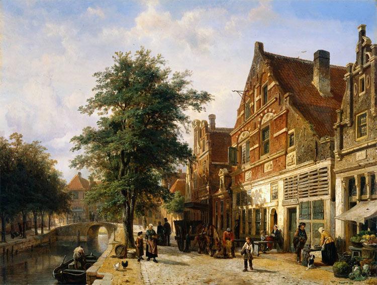 Pintura de Springer Cornelis