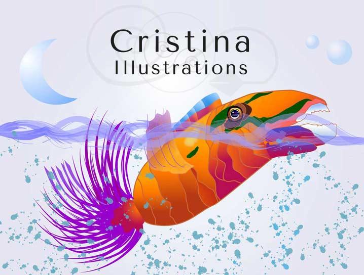 ilustraciones gratis de cristina