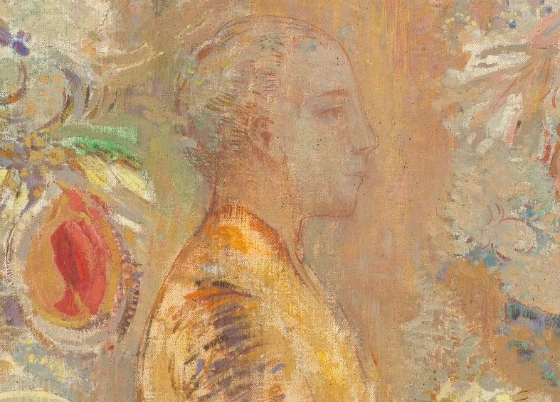 Budha, de Odilon Redon