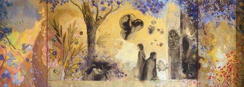 La noche, de Odilon Redon