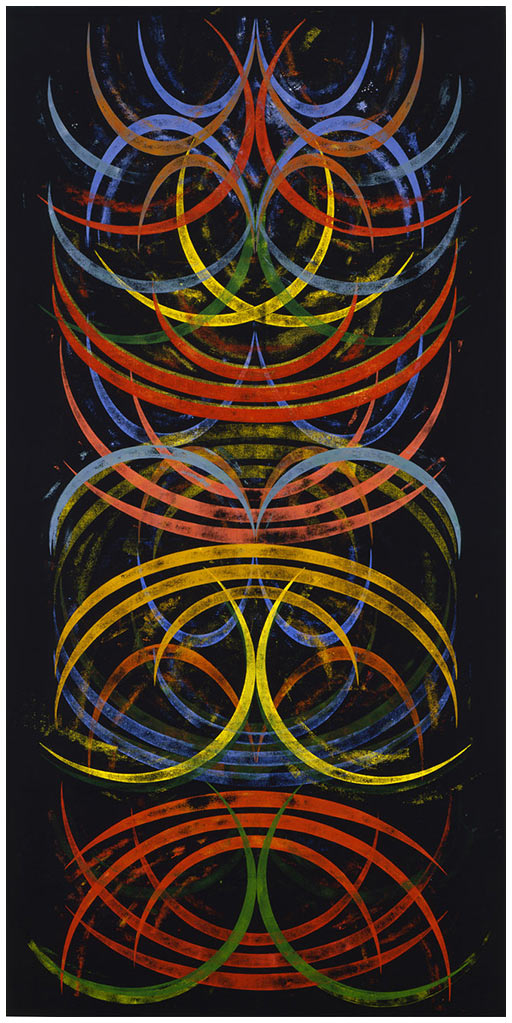 Crescent Nocturnede Philip Taaffe