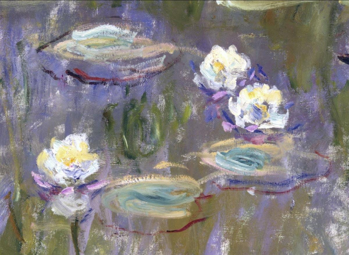 Pinceladas de Monet