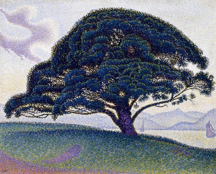 el pino de buenaventura de paul signac the museum of fine arts
