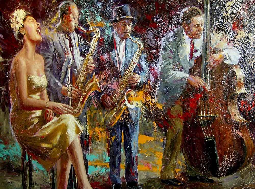 Nenad Mirkovich, pintura de músicos
