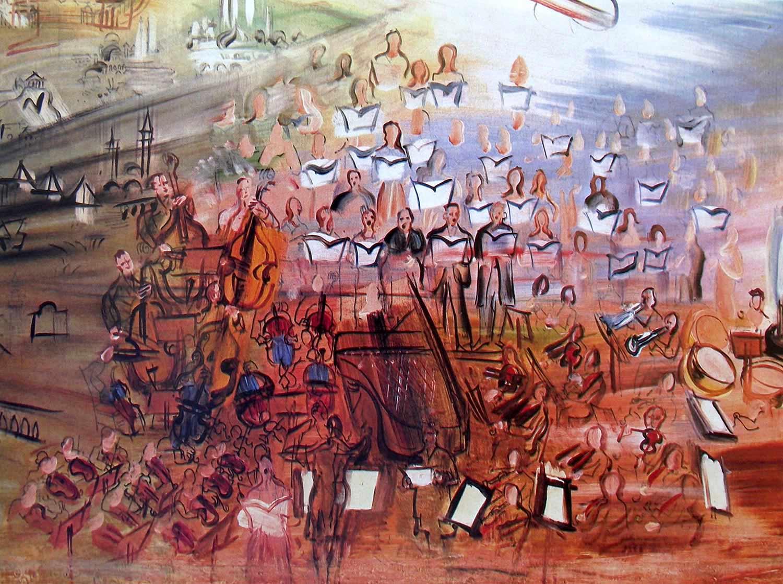 Raoul Dufy, orquesta