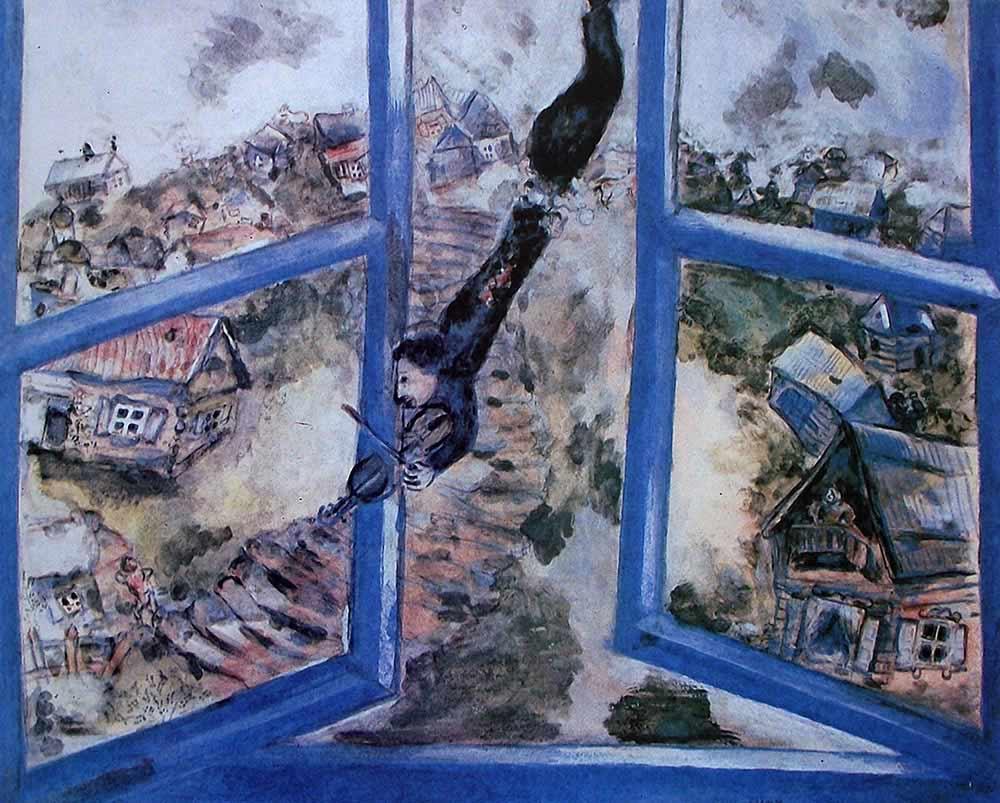 El violinista de Marc Chagall
