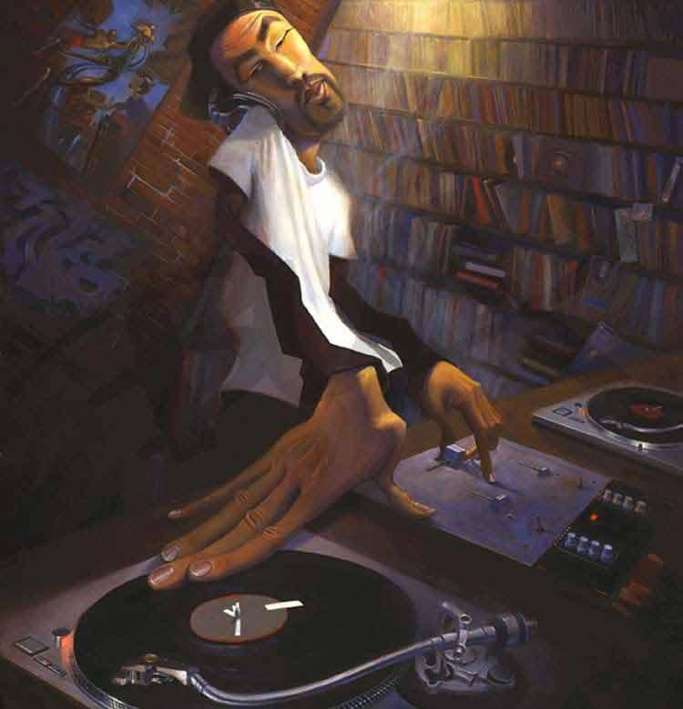 El DJ, de Justin Bua