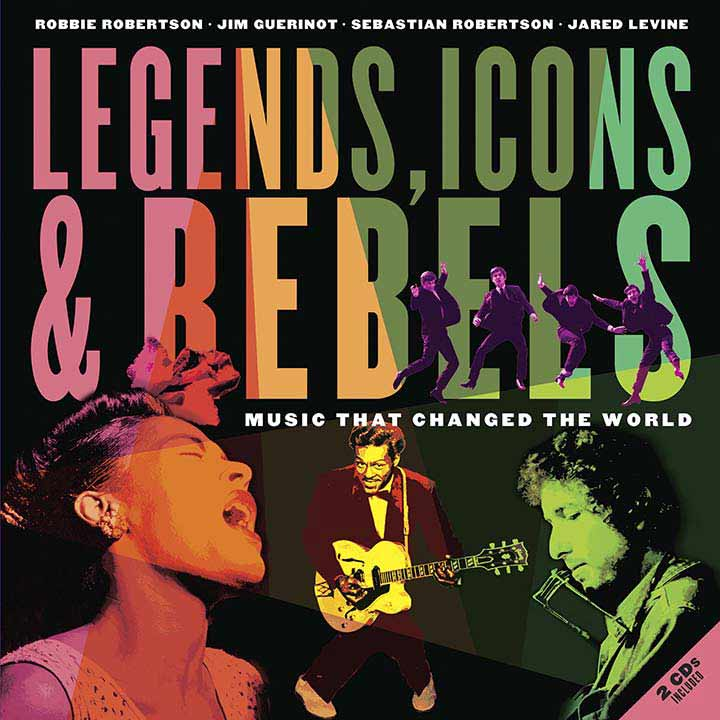 Portada disco Legends and Icons rebelds