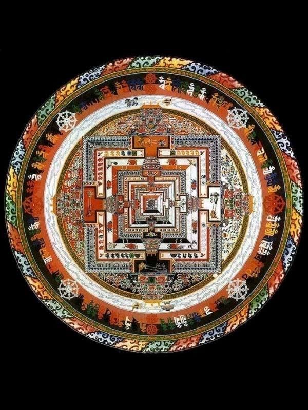 Kalachakra sand mandala
