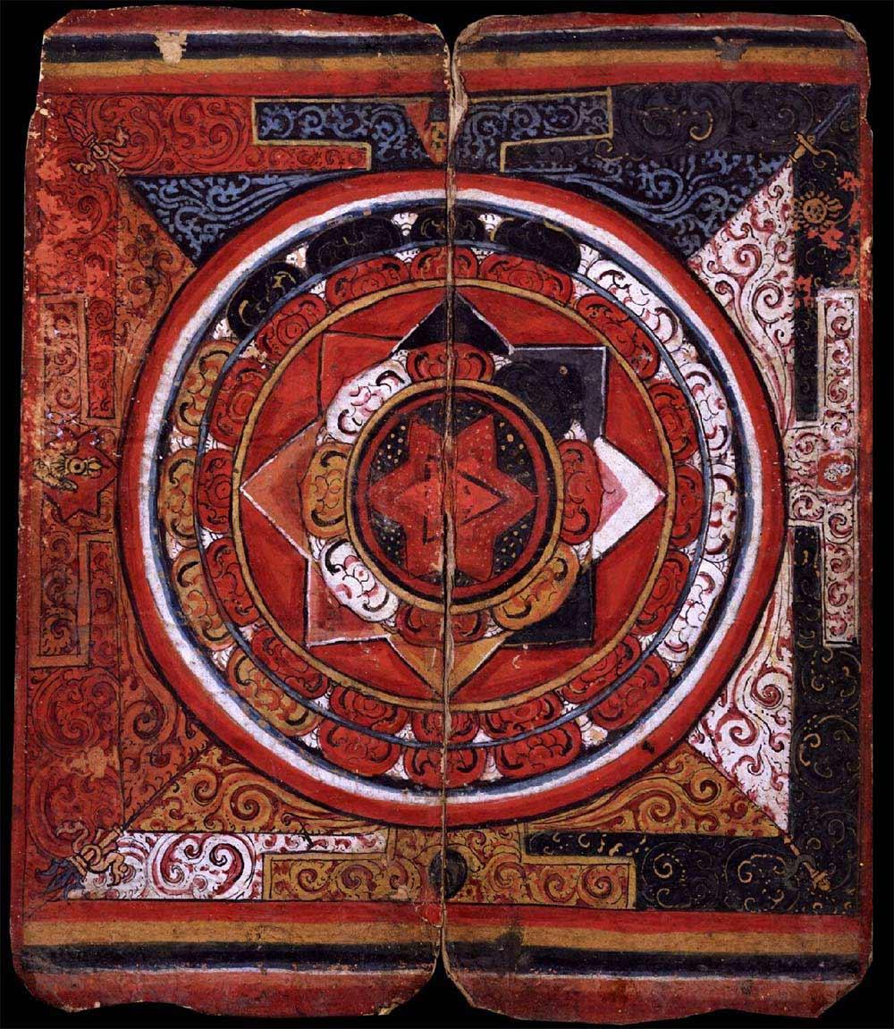 Mandalas En Busca De La Concentracion Pintura Y Artistas - Pinturas-de-mandalas