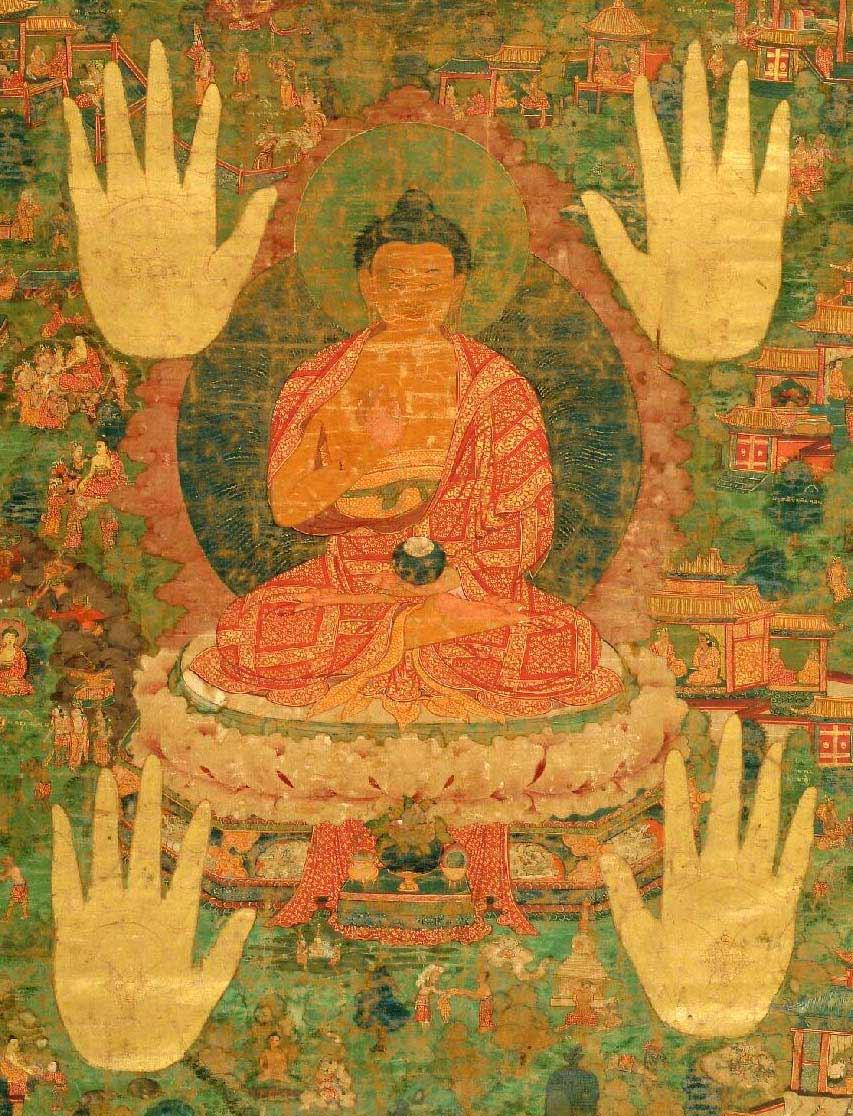 Buddha del Tibet