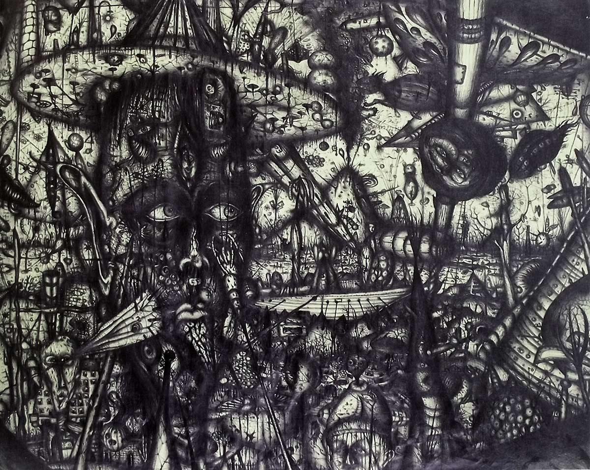 Buceador, de Arnulf Rainer