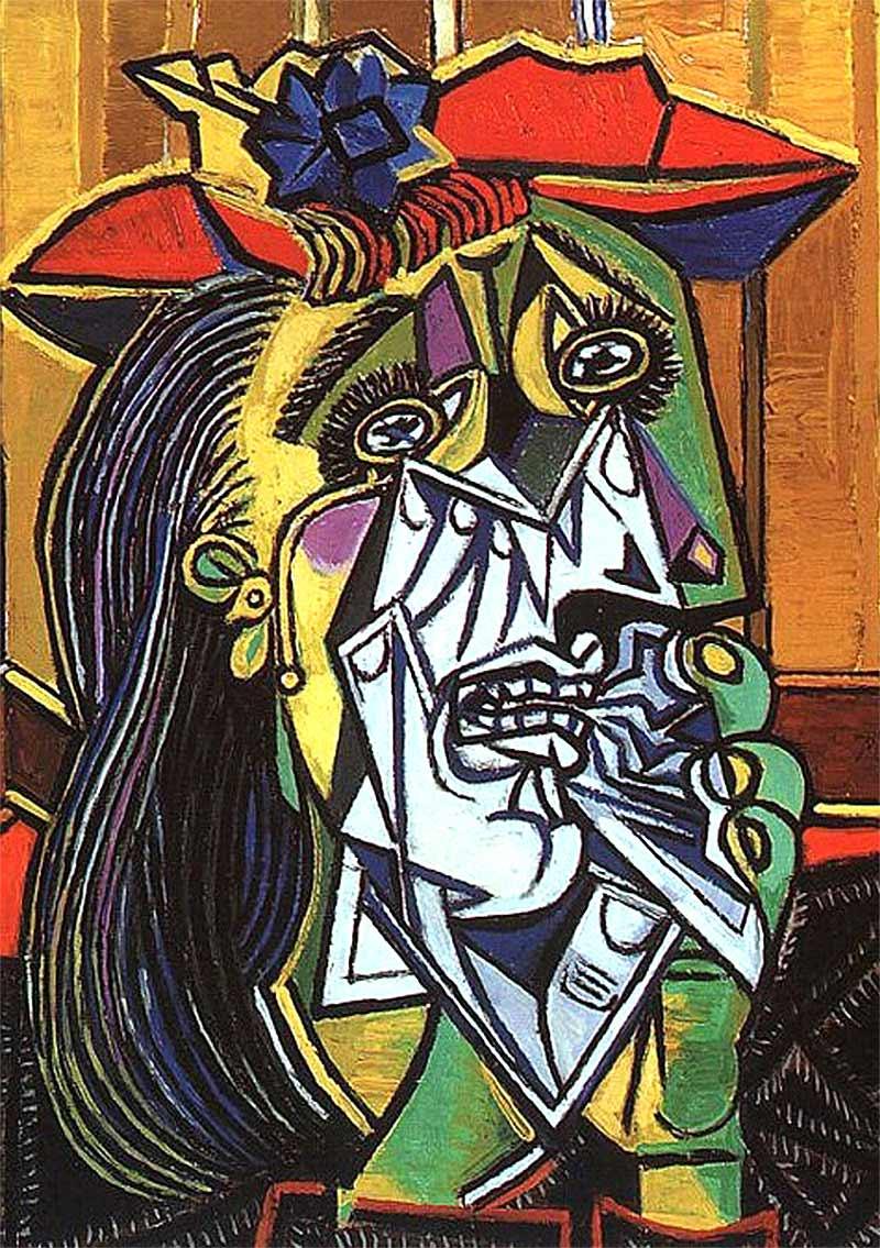 Mujer llorando, de Picasso