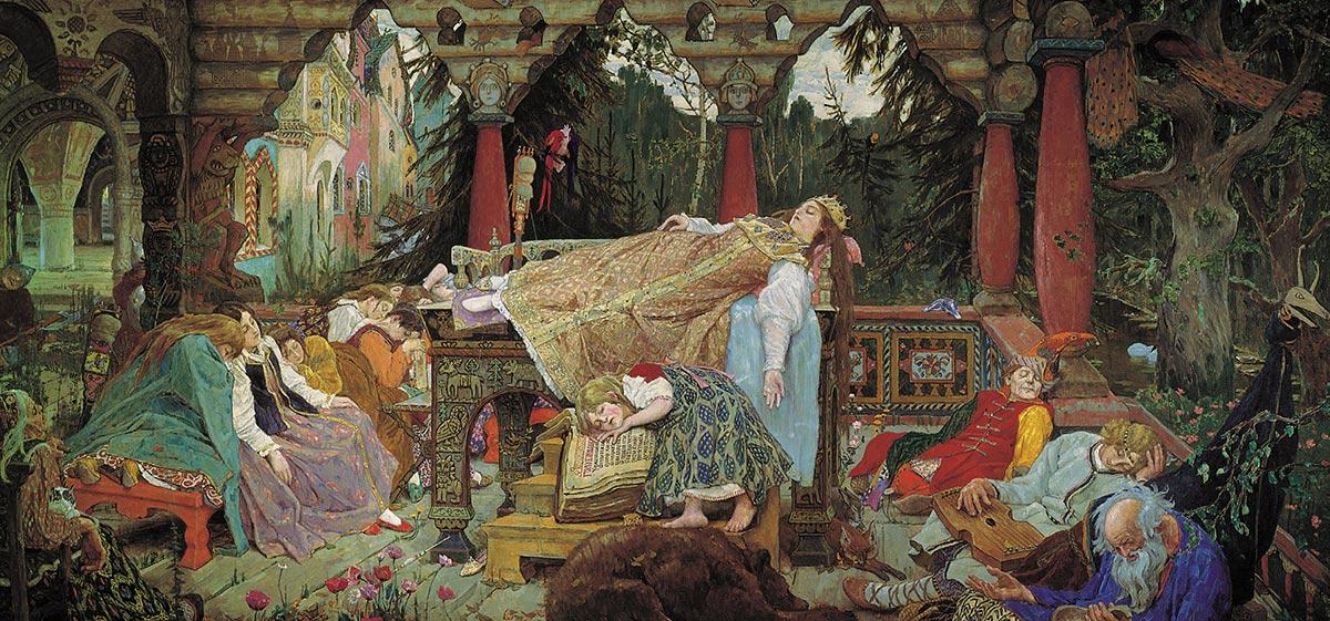 La princesa durmiente, Victor Vasnetsov