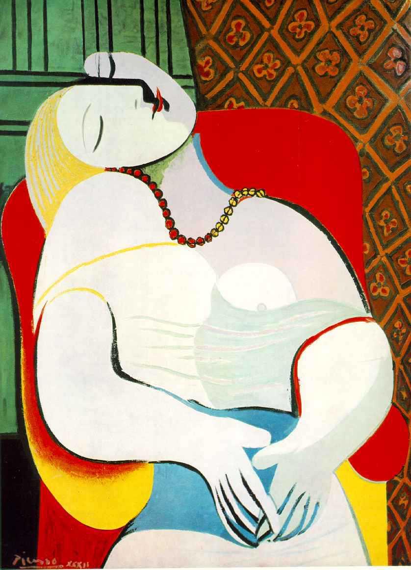 El sueño, de Picasso