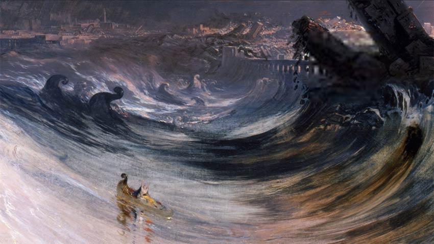 La destrucción de Tyre, de John Martin