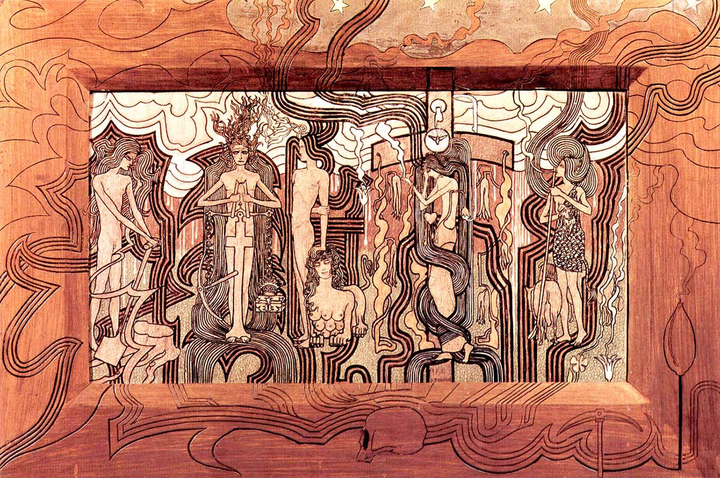 Jan Toorop, Canción de los tiempos