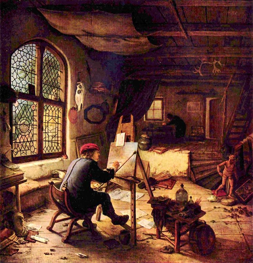 El pintor en su taller