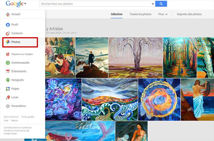 Fotos con Google