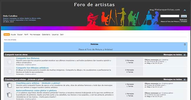 El foro de Pintura y Artistas