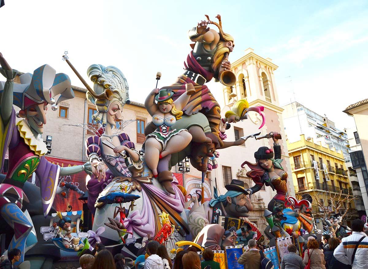 Falla del Pilar, ganadora en 2014