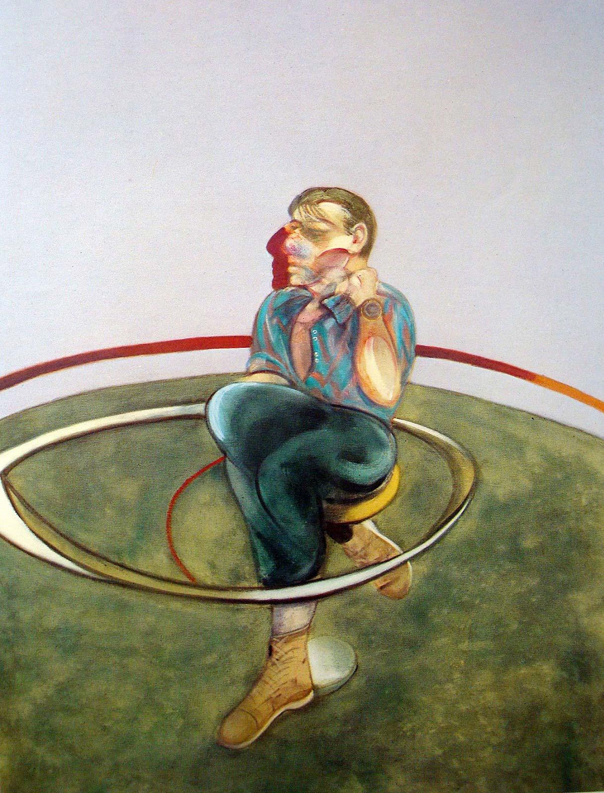 Pintura de Francis Bacon, Autorretrato