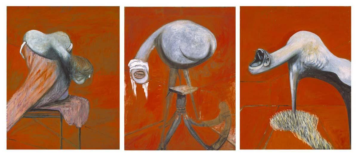 Pintura de Francis Bacon, Tríptico