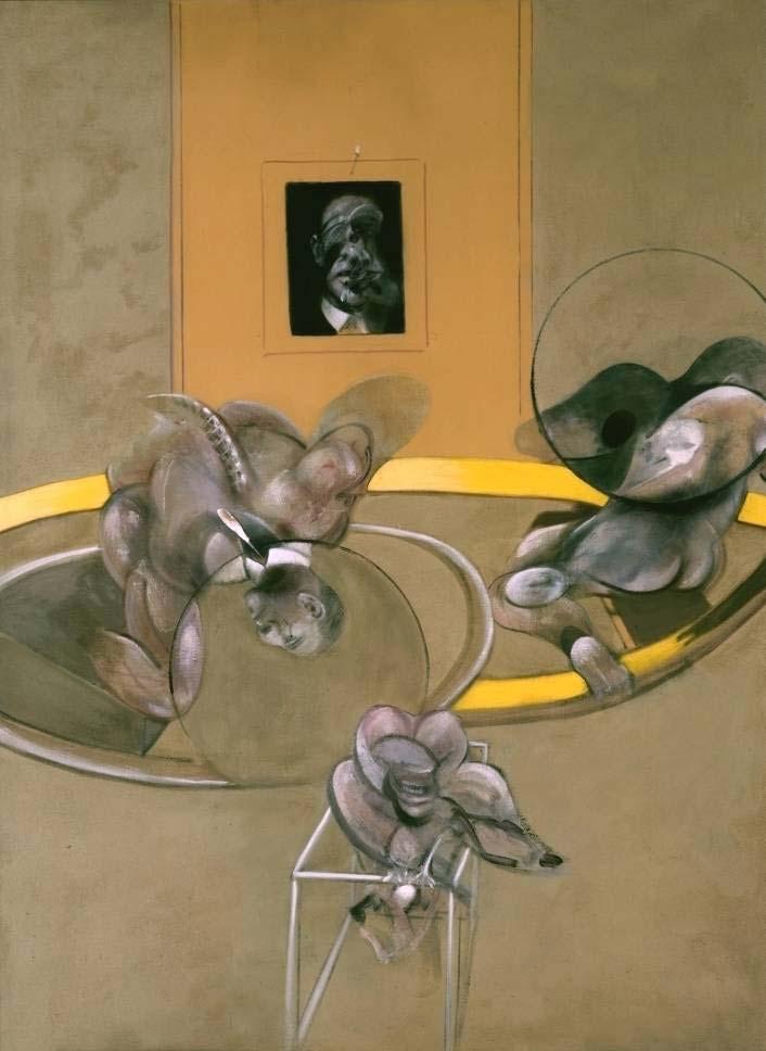 Pintura de Francis Bacon, Tres figuras