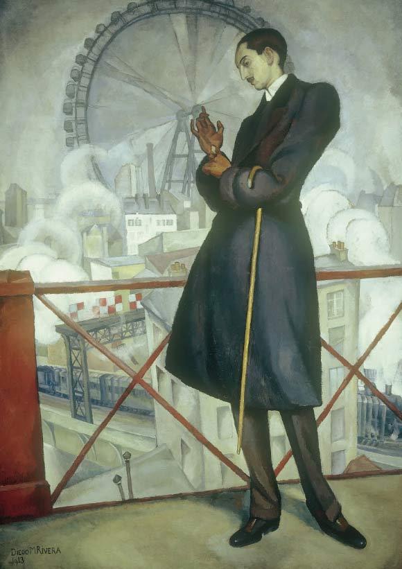 Retrato de Adolfo Best Maugart, pintado por Diego Ribera