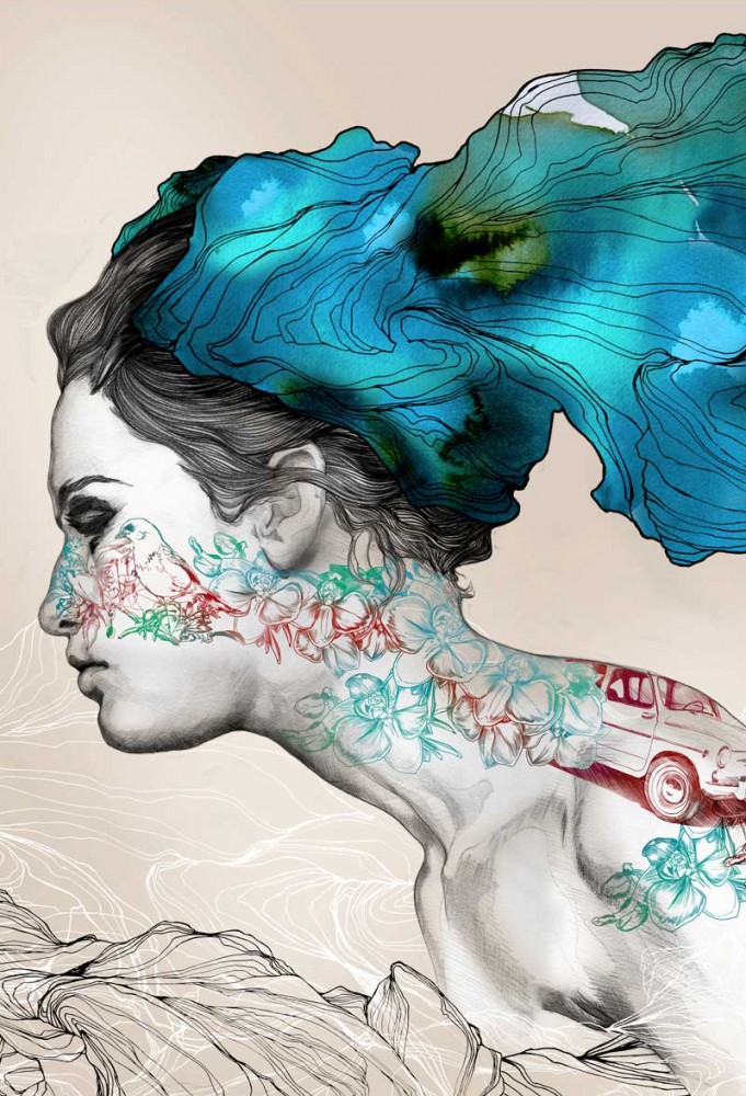 Pintura de Gabriel Moreno