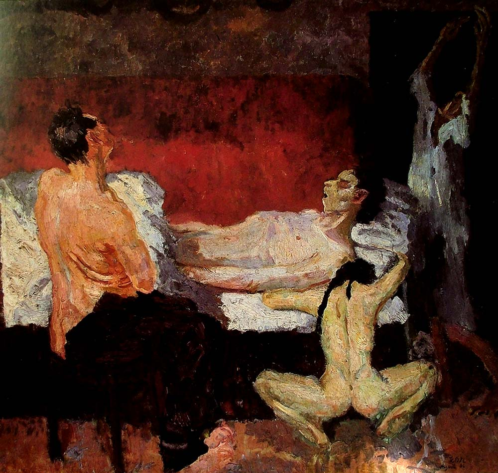 Great scene of death, Beckmann