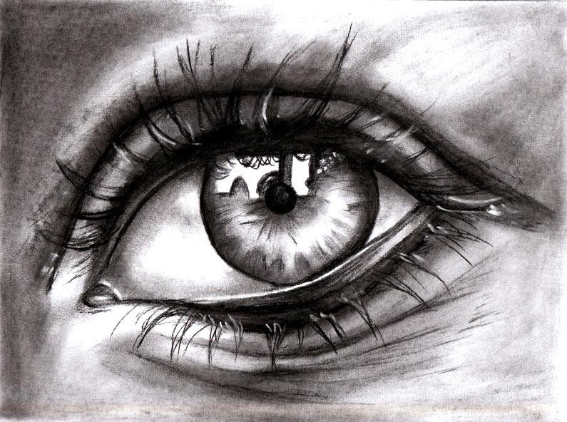 Dibujo de los ojos