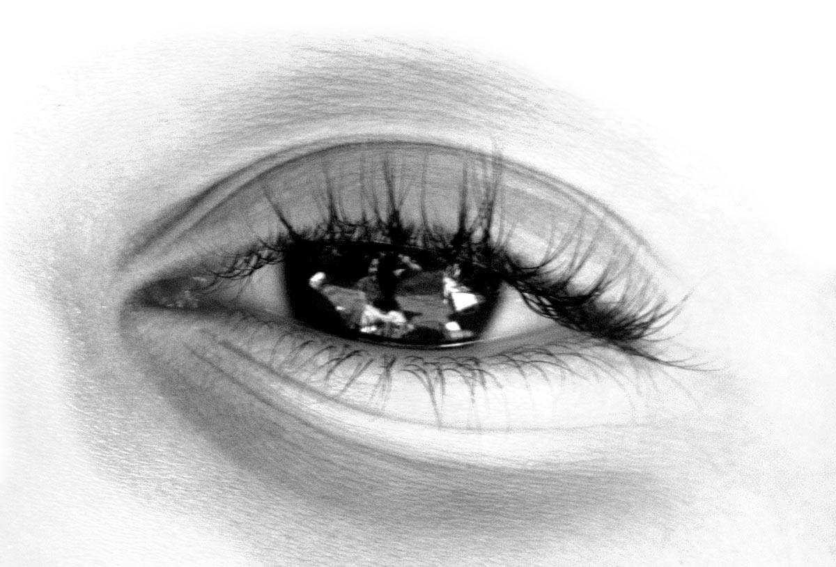 Ojos con reflejos