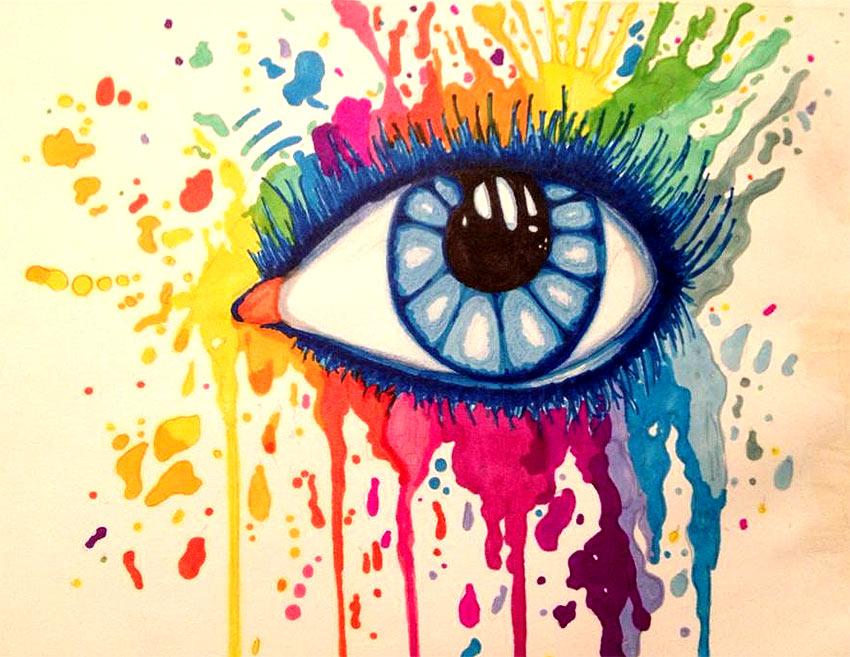 Pintar ojos