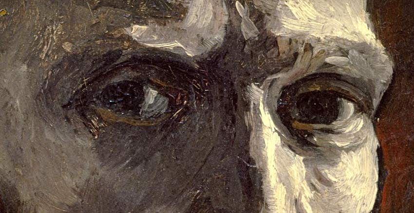 Pintar ojos Van Gogh