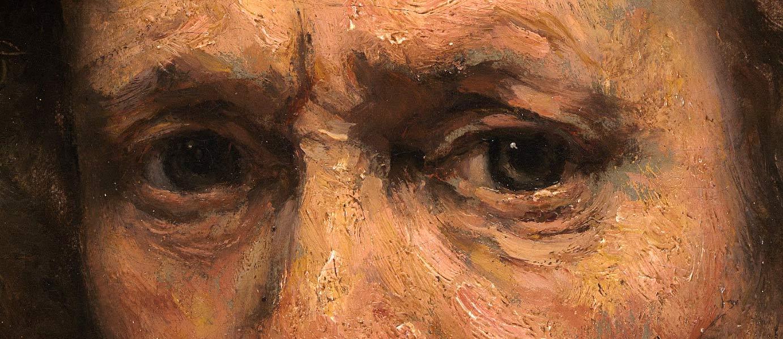 The eyes of Rembrandt van Rijn